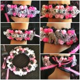 Bassnectar Oh Yes Pink Elephants 3d Cuff