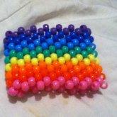 New Rainbow Cuff <3 <3