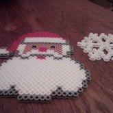 Santa N Snowflake