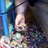 ... That Moment When You're Having A Blast Making Kandi, Then This Happens X.x