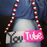 Youtube Perler Necklace