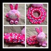 Bunny Hello Kitty Cuff <3