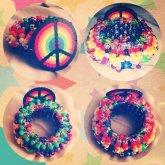 Rainbow Peace UFO
