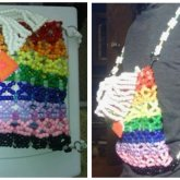 Rainbow Kandi Backpack
