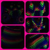 Raylee's First Kandi Outfit Under A