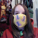 Fluttershy Cutie Mark Mask