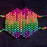 Glitter Melting Rainbow Mask