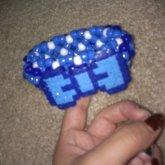 Blue Bow 3D :)
