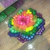 So I Learned How To Make A Kandi Rose.???????? Tha