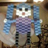 Chibi Hatsune Miku Made From Perler Beads