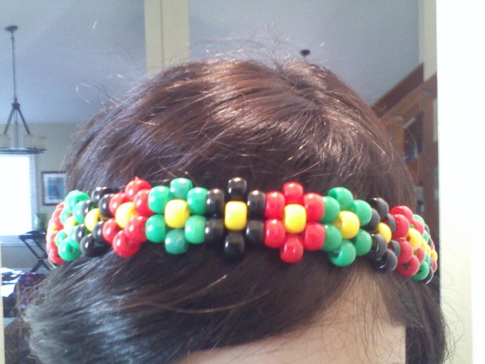 Rasta Flower Headband  D by Carlina Sunshine - Kandi Photos on Kandi ... f15445aeee6