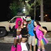 Me And New Friends At My First Iris Rave. :3