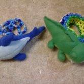 Alligator And Shark