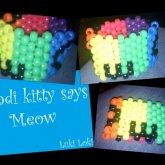 Kandi Kitty Says Meow