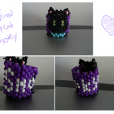 Cuff Inspired By My Cat Smoky