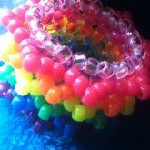 Rainbow Spike Cuff