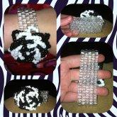 My Black And White Kandi Rose
