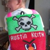 Backpack Skull & Angry Birds