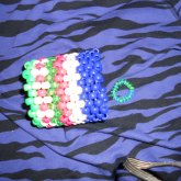 MY First Kandi Cuff Made Back When I Was A Sophmore 10th Grade :P