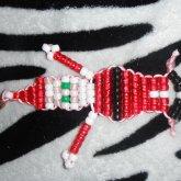 Santa Keychain
