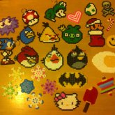Hama/Perler Arty Farty Collection!