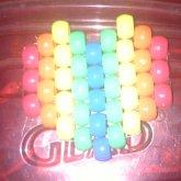 Rainbow Heart Hairpin
