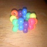 Neon Rainbow Multi Ring
