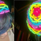 Rainbow Kandi Beanie