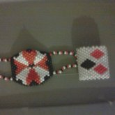 Umbrella Corp Mask And Harley Quinn Cuff