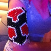 My Friends Helghast Cuff I Made :)