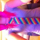 My First Kandi Tie^^!