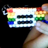 Rainbow Equality Peyote Cuff