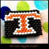 TN VOLS PEYOTE CUFF