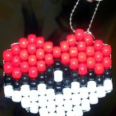 Pokeheart Keychain