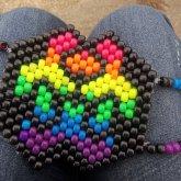 Rainbow Toxic Mask