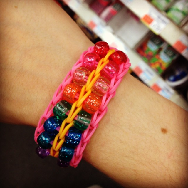 Double beaded ladder (rainbow loom) by TheWindexKid ...