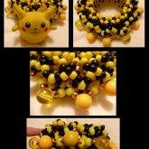 Vintage 90's Pikachu Ball Cuff <3