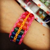 Double Beaded Ladder (rainbow Loom)