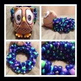 Owl Galaxy-Inspired Cuff <3