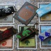 Magic The Gathering Land Type Woven Bracelets