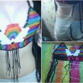 Rainbow Kandi Bikini