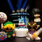 Link, Buster, Energy Capsule And Zelda