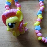 Squishy Fluttershy Necklace