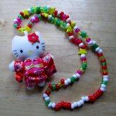 Kimono Hello Kitty Necklace