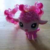 LPS Pink Sheep Bracelet/Cuff