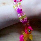 Translucent Fluttershy Bracelet