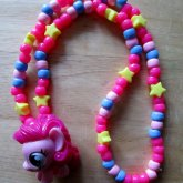 Squishy Pinkie Pie Necklace