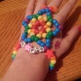 So Fab Rainbow Handlet
