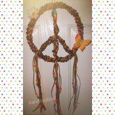 Kandi Peace Sign