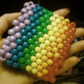 Large Rainbow Cuff